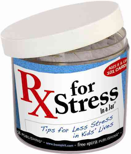 Rx for Stress in a Jar By Free Spirit Publishing (COR)